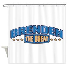 The Great Brenden Shower Curtain