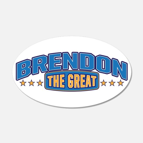 The Great Brendon Wall Decal