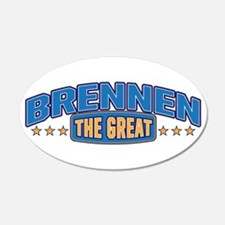 The Great Brennen Wall Decal