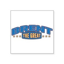 The Great Brent Sticker