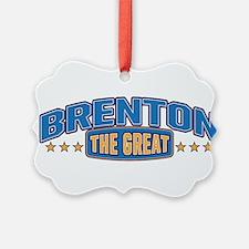 The Great Brenton Ornament