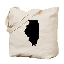 State of Illinois Tote Bag