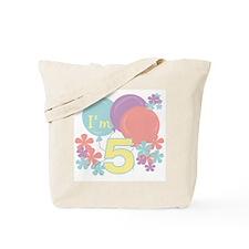 5th Pastel Birthday Tote Bag