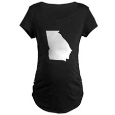 State of Georgia Maternity T-Shirt