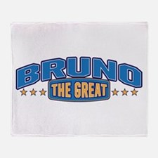 The Great Bruno Throw Blanket