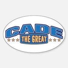The Great Cade Decal