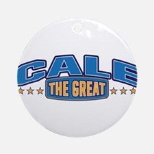 The Great Cale Ornament (Round)