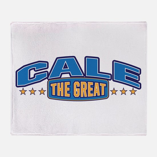 The Great Cale Throw Blanket