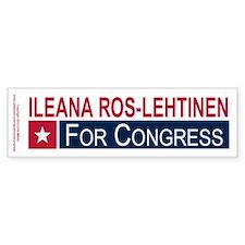Elect Ileana Ros-Lehtinen Bumper Sticker