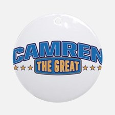 The Great Camren Ornament (Round)