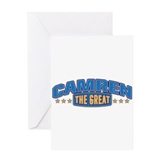 The Great Camren Greeting Card