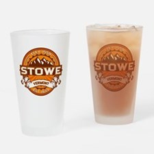Stowe Tangerine Drinking Glass