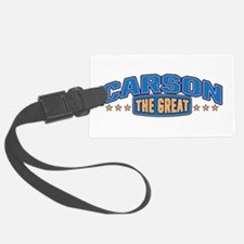 The Great Carson Luggage Tag