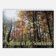 Autumn in the Sourlands Wall Calendar