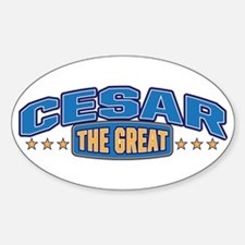 The Great Cesar Decal