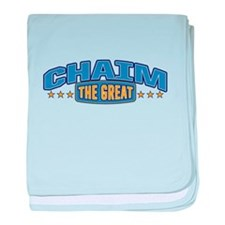 The Great Chaim baby blanket