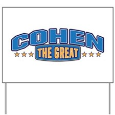 The Great Cohen Yard Sign