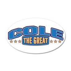 The Great Cole Wall Decal