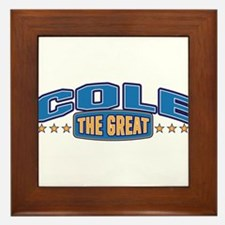 The Great Cole Framed Tile