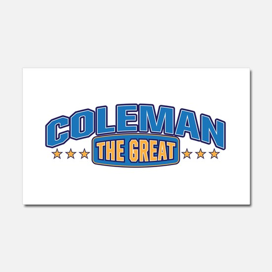 The Great Coleman Car Magnet 20 x 12
