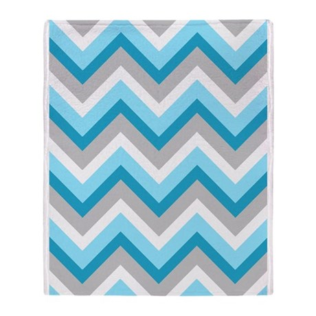 'Zigzag' Throw Blanket