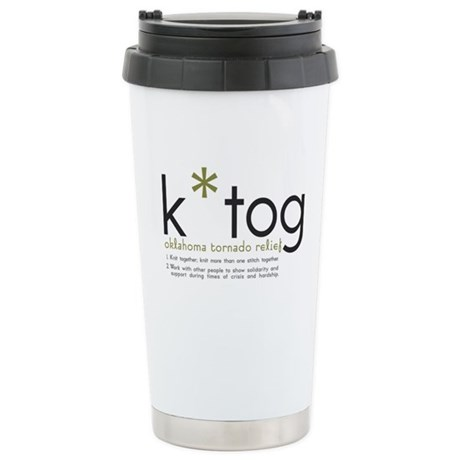 K*Tog Stainless Steel Travel Mug