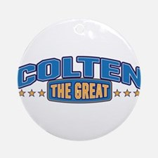 The Great Colten Ornament (Round)