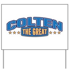 The Great Colten Yard Sign
