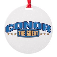 The Great Conor Ornament