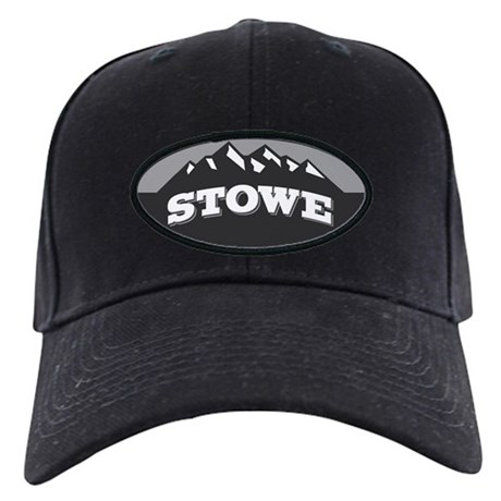 Stowe Gray Black Cap