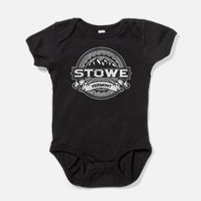 Stowe Gray Baby Bodysuit
