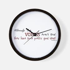 Cute Crazy Wall Clock