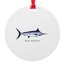 Blue Marlin Logo Ornament