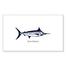 Blue Marlin Logo Decal