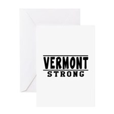 Vermont Strong Designs Greeting Card
