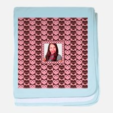 Personalized Add Your Own Image baby blanket