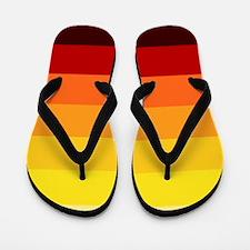 'Sunset' Flip Flops