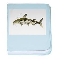 Spotted Sorubim (Shovelnosed Catfish) baby blanket
