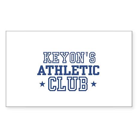 Keyon Rectangle Sticker