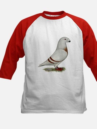 Show Racer Red Bar Pigeon Baseball Jersey