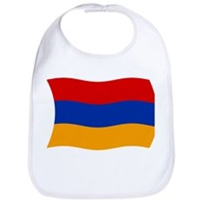 Armenia Flag 2 Bib