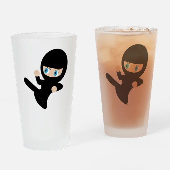 Ninja Drinking Glass