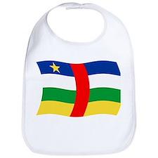 Funny Central african republic Bib