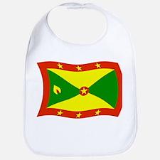 Grenada Flag 2 Bib