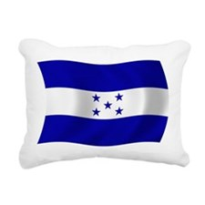Honduras Flag Rectangular Canvas Pillow