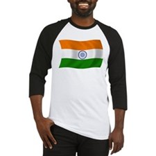 India Flag Baseball Jersey