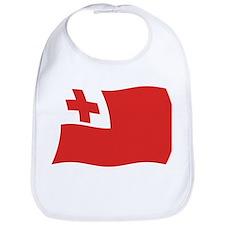 Tonga Flag 2 Bib