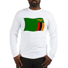 Zambia Flag 2 Long Sleeve T-Shirt