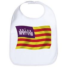 Balearic Islands Flag Bib