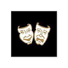 Drama Mask Sticker
